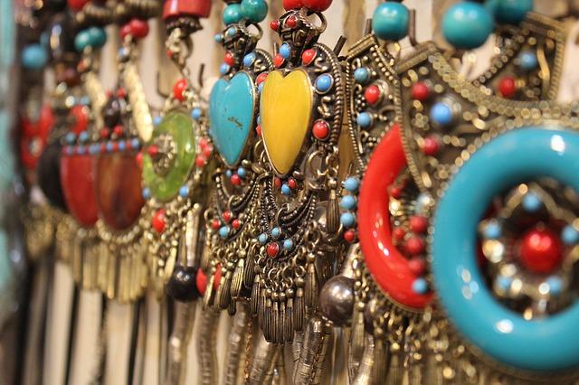 bijoux fabriqués main
