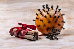 humidité girofle orange