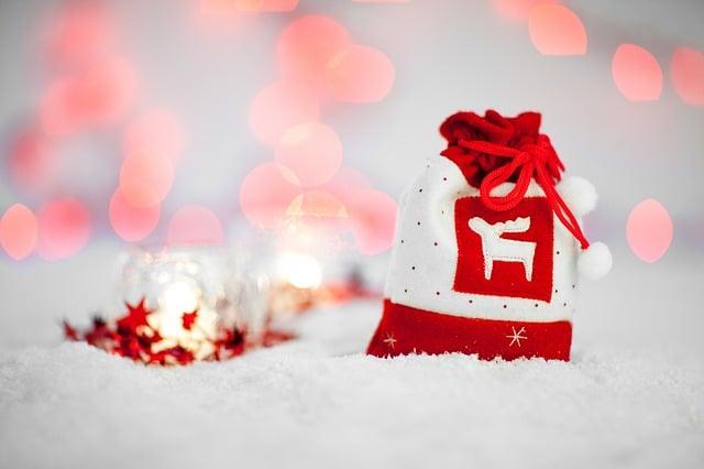 Noel cadeau rouge